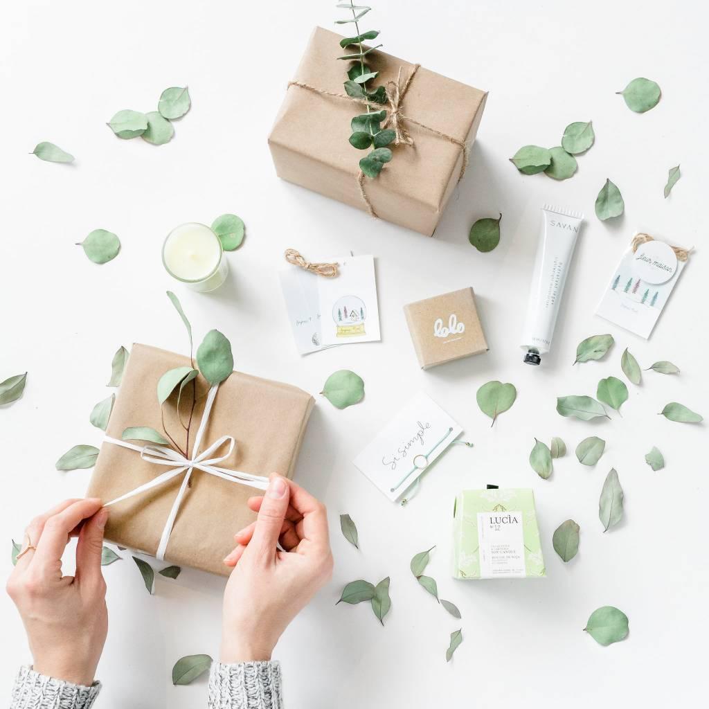 Guide d'emballage Cadeaux