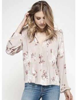 Gentle Fawn Bicolor Floral Top