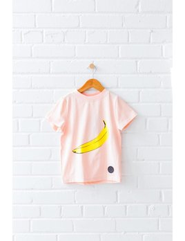 Birdz T-Shirt Rose Banane