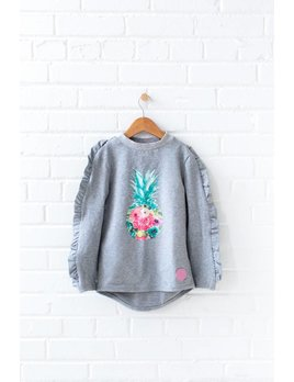 Birdz Grey Pineapple Sweater