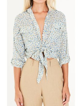 Faithfull Dahlia Knot Top