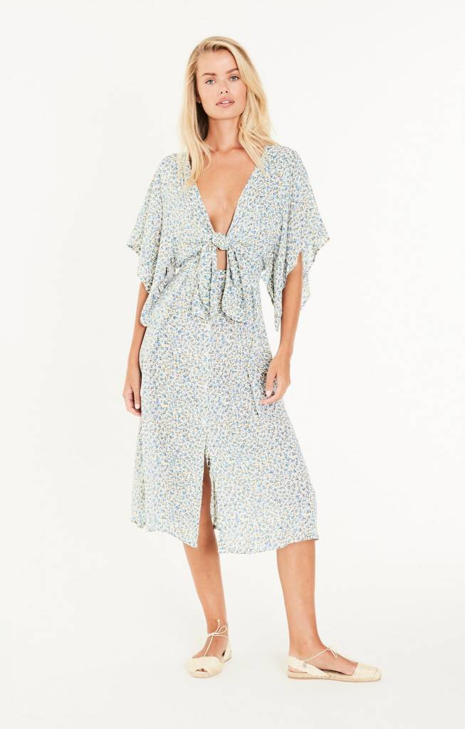 Faithfull Dahlia Knot Dress