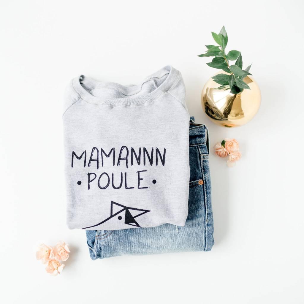 Ptit Mec Ptite Nana Tricot Long Maman Poule