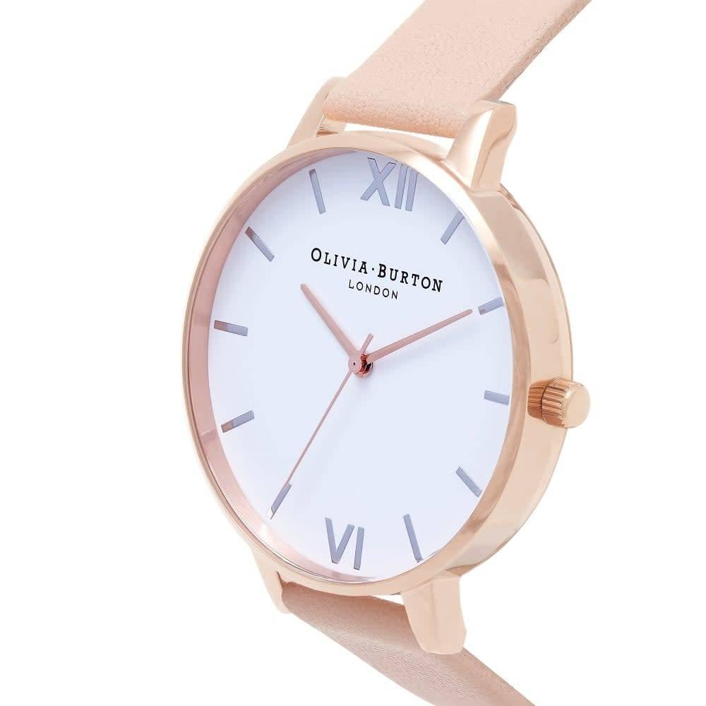 Olivia Burton Peach & Rose Gold Watch