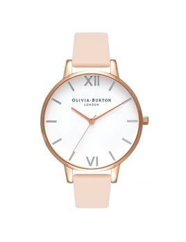 Olivia Burton Montre Pêche & Or Rose