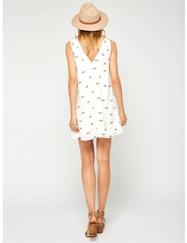 Gentle Fawn Vanilla Geo Dress