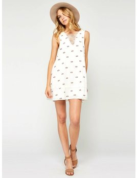 Gentle Fawn Vanilla Geo Dress