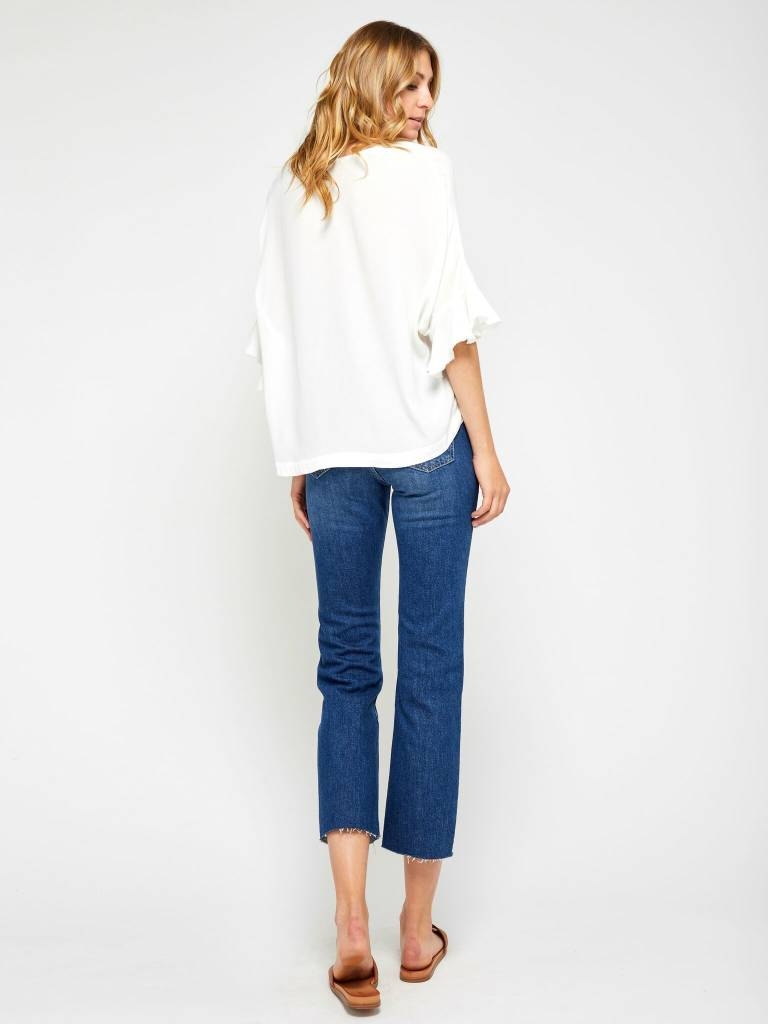 Gentle Fawn White Becca Top