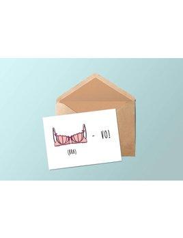 Fleur Maison Greeting card – Bravo