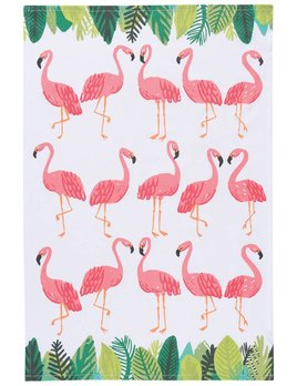 Danica/Now Flamingos Teatowel