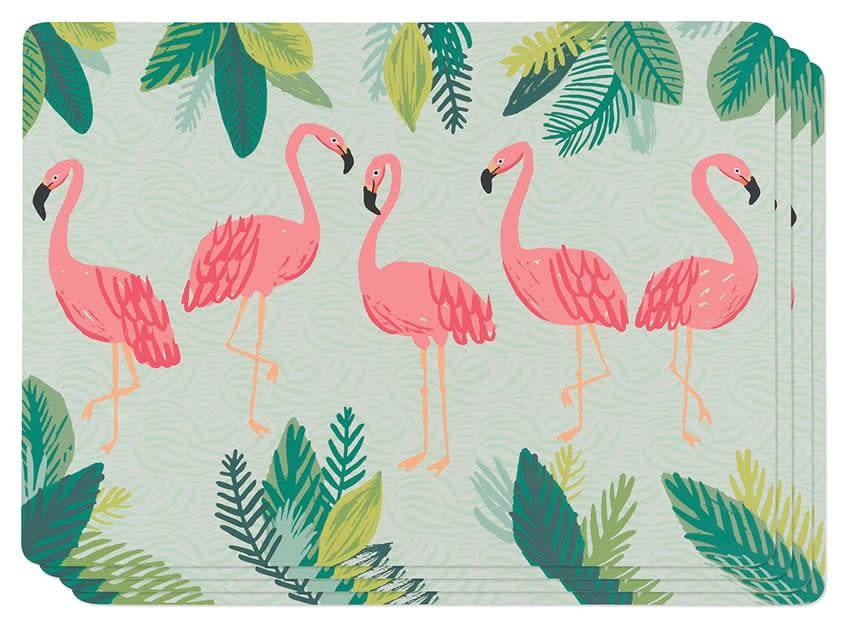 Danica/Now Flamingos Cork-backed Placemats