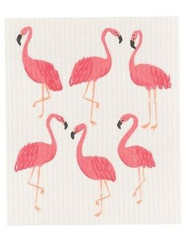 Danica/Now Flamingos Dishcloth