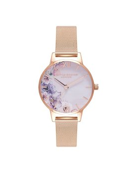 Olivia Burton Watercolor Floral Watch
