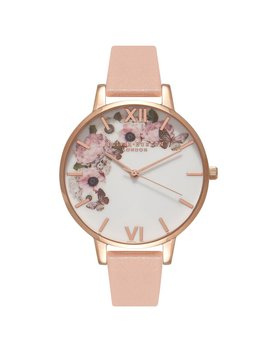 Olivia Burton Signature Floral Dusty Pink Watch