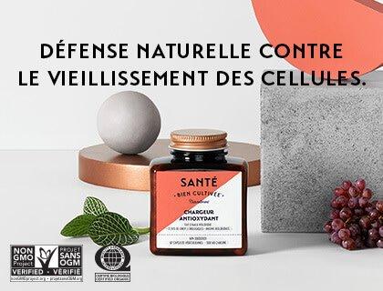Santé Bien Cultivée Chargeur Antioxydant