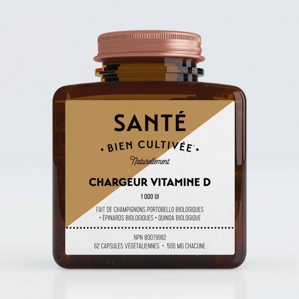 Santé Bien Cultivée Chargeur Vitamine D