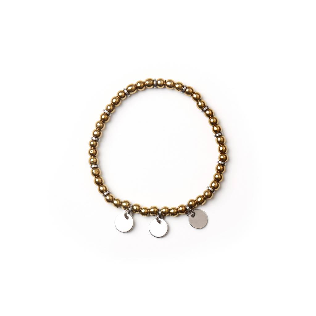 Si Simple Bracelet Teo Bronze