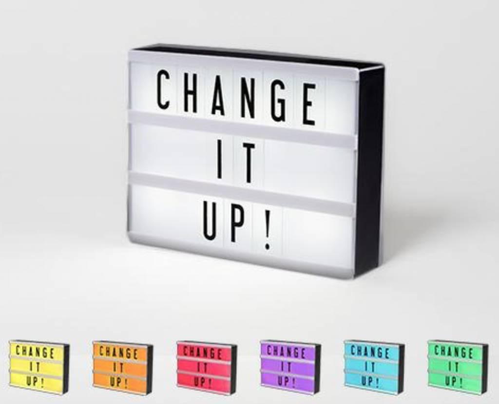 Cinema Lightbox Mini Cinema Lightbox - Color Changing