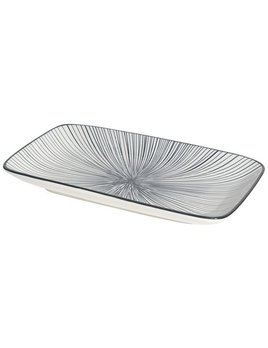 Danica/Now Stamped Plate - Black Etched Lines