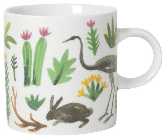 Danica/Now Secret Garden Short Mug