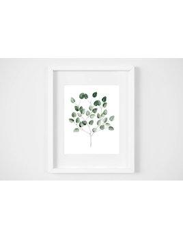 Fla Fla Affiche Bouquet Eucalyptus
