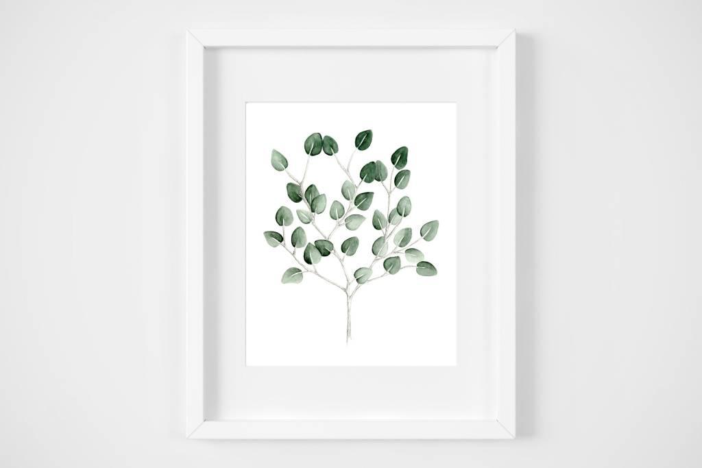 Fla Fla Eucalyptus Bouquet Poster