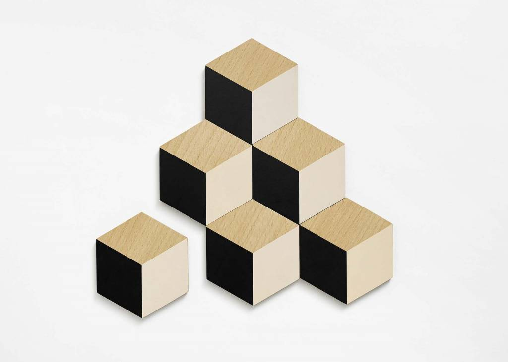 The Tate Group Black Cubic Coasters