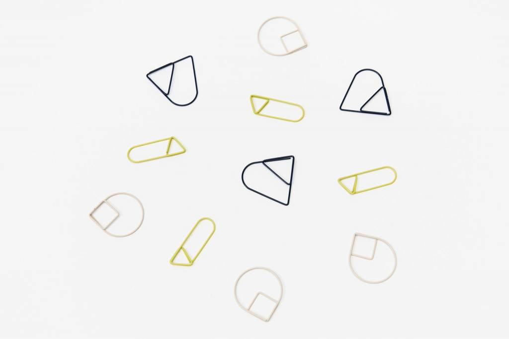 The Tate Group Geo Paper Clips