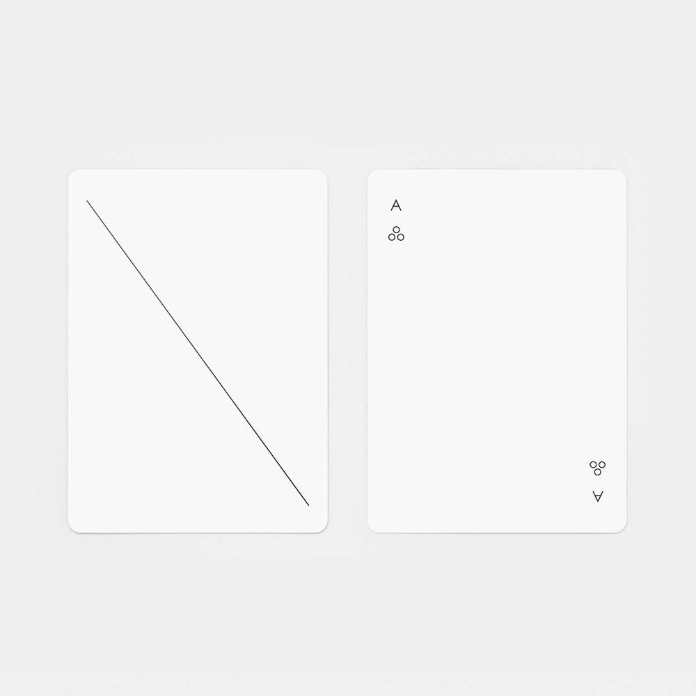 The Tate Group White Playing Cards