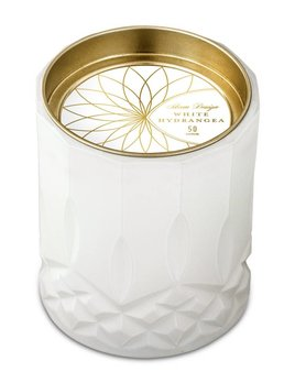 The Tate Group White Hydrangea Big Candle