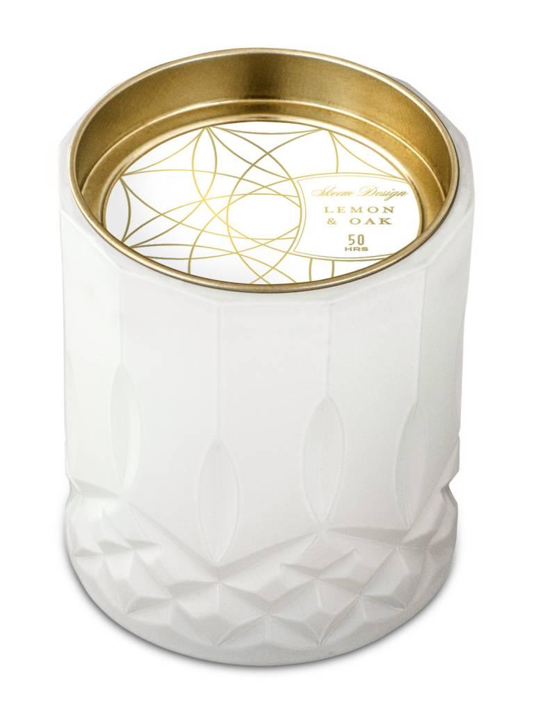 The Tate Group Lemon & Oak Big Candle