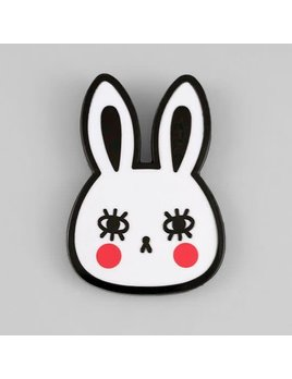 The Tate Group White Bunny Pin