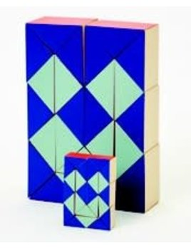 The Tate Group Red-Blue Snake Blocks