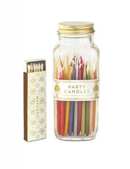 The Tate Group Multicolour Party Candles