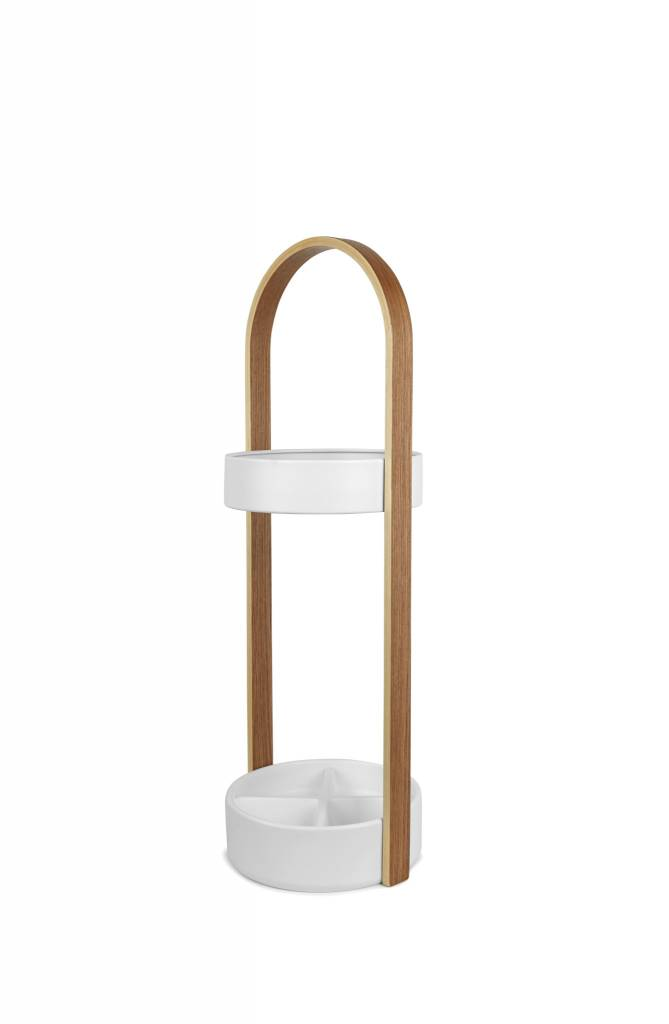 Umbra Hub White Umbrella Stand