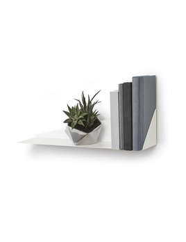 Umbra White Angular Shelf