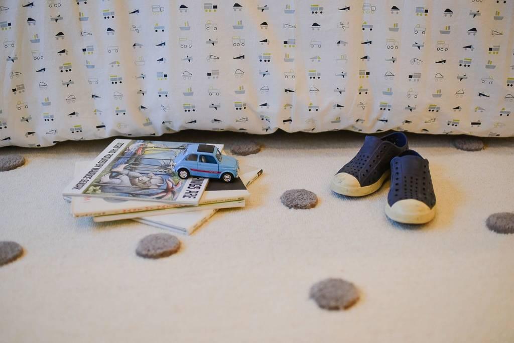 Pehr Design Grey Pompoms Rug