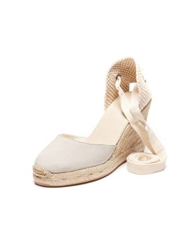 Soludos Laced Wedge Sandals