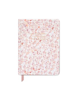 Designworks ink Blush Terrazzo Journal
