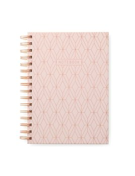 Designworks ink Cahier de Notes Géo Rose