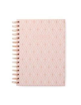 Designworks ink Pink Geo Notebook