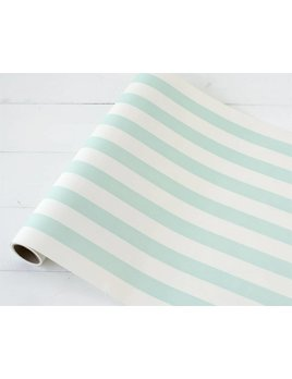 Seafoam Striped Runner