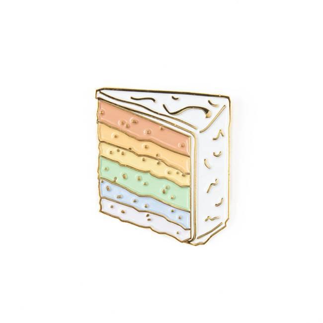 Drake General Store Rainbow Cake Pin