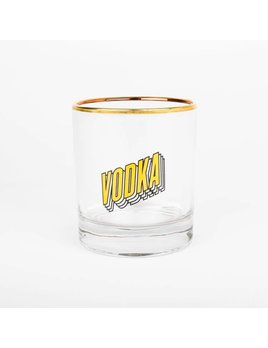Drake General Store Vodka Bar Glass