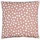 Eightmood Coussin Blush Pois Blancs