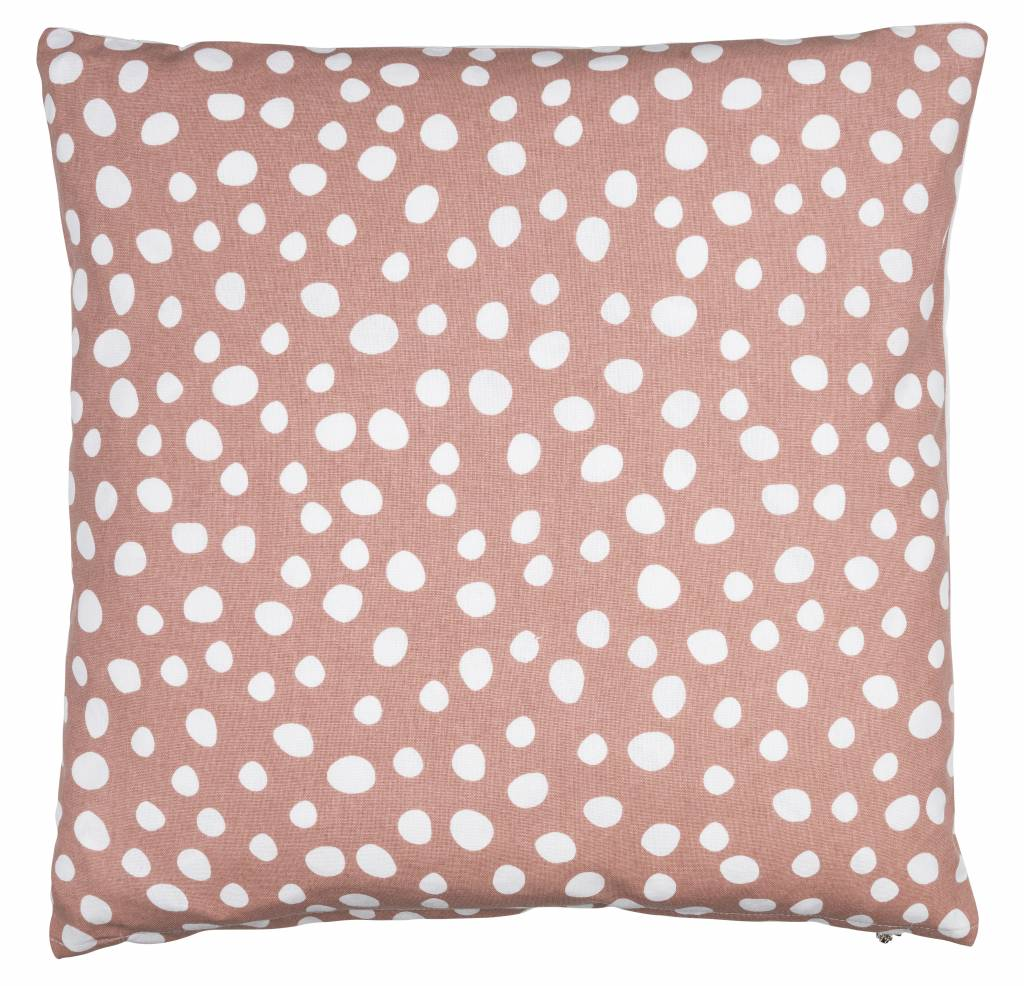 Eightmood White Dots Blush Pillow