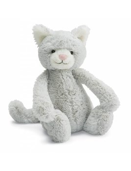 Jellycat Peluche Chaton Gris