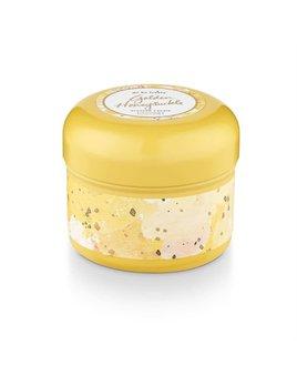 Golden Honeysuckle Tin Candle