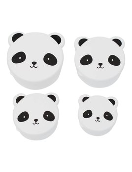 Little Lovely White Panda Snack Boxes