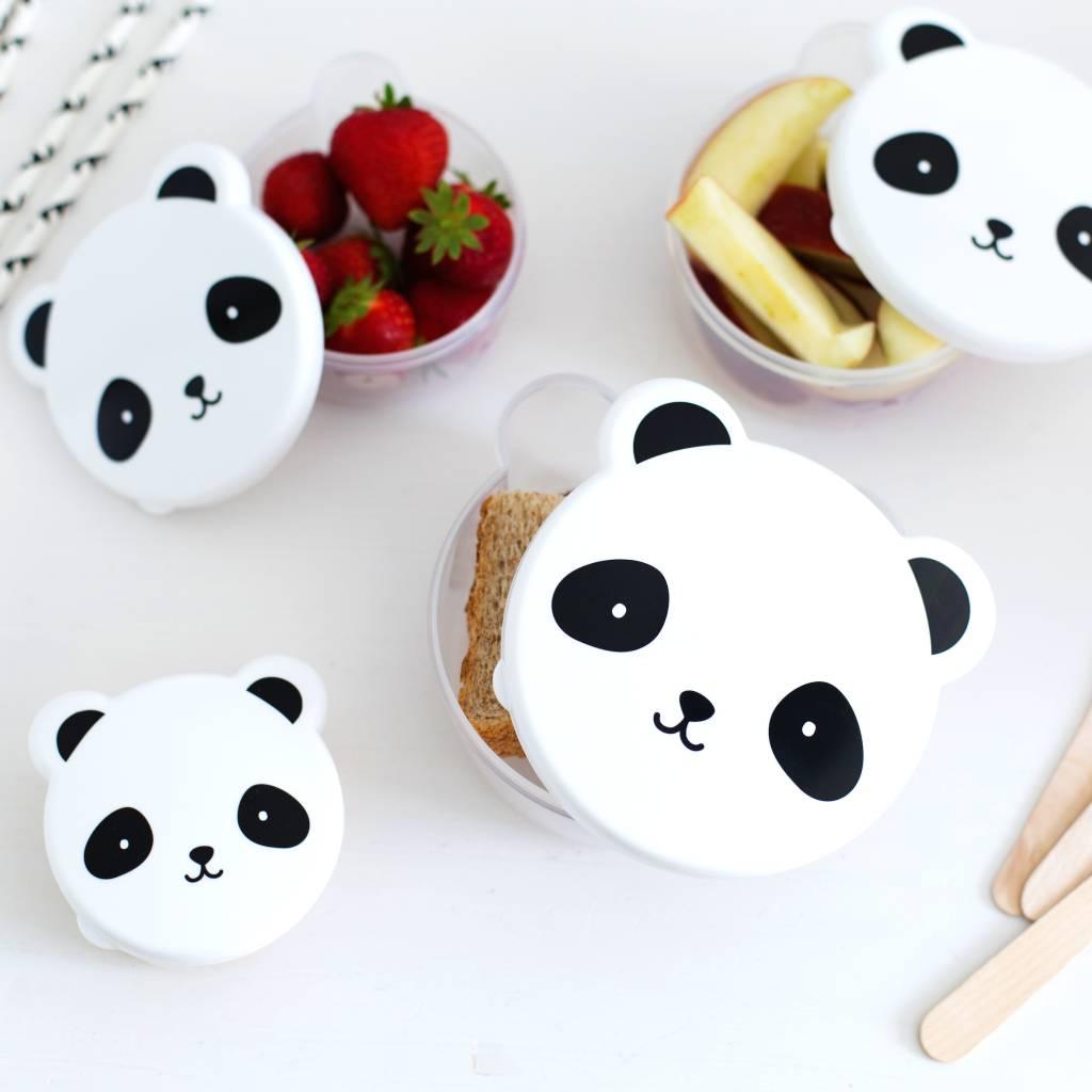 Little Lovely White Panda Snack Boxes